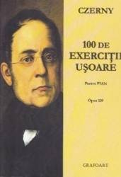 100 de exercitii usoare pentru pian - Czerny Carti