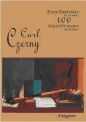 100 Exercitii Usoare Op.139 Caiet 3 - Carl Czerny