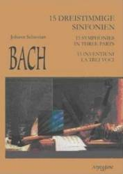 15 Inventiuni La Trei Voci - Johann Sebastian Bach