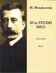 20 de studii mici pentru pian - M. Moszkowski