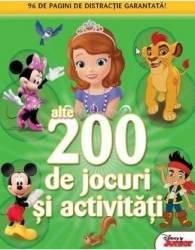 200 de jocuri si activitati vol.2 Disney Junior Carti