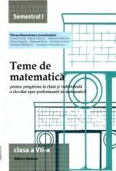 2014 Teme De Matematica Cls 7 Sem. 1 - Petrus Alexandrescu