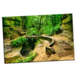 pret preturi Tablou canvas printat digital - Creil - 90x54 cm