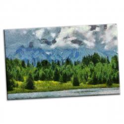 pret preturi Tablou canvas printat digital - Foresto - 90x54 cm