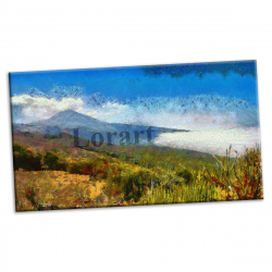 pret preturi Tablou canvas printat digital - Uverito Abajo - 90x54 cm