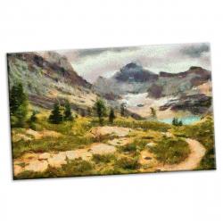 pret preturi Tablou canvas printat digital - Visogliano - 90x54 cm