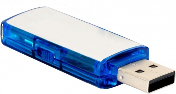 pret preturi Mini reportofon in forma de stick USB alb Gonga