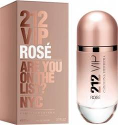 Apa de Parfum 212 VIP Rose by Carolina Herrera Femei 80ml Parfumuri de dama