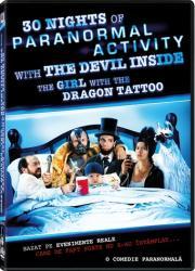 30 nights of paranormal activity DVD 2013 Filme DVD