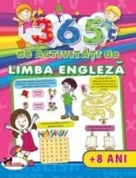 365 de activitati de limba engleza +8 ani - Lata Seth Anuj Chawla