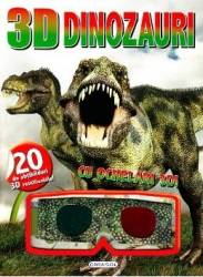 3D Dinozauri. Cu ochelari 3D Carti
