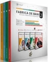 4 DVD Fabrica de bani Vol.2 - Marius Simion Lorand Soares Szasz Daniel Zarnescu Pera Novacovici