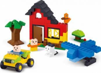 413 Piese constructie pentru baieti Sluban Kiddy Bricks M38-B0502