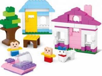 413 Piese constructie pentru fete Sluban Kiddy Bricks M38-B0503