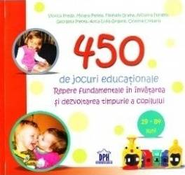450 de jocuri educationale 19-84 luni - Viorica Preda Mioara Pletea Filofteia Grama Carti