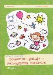 5-6 ani Grupa mare domeniul Stiinte - Cunoasterea mediului - Irina Curelea