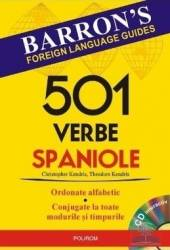 501 verbe spaniole + CD - Christopher Kendris Carti