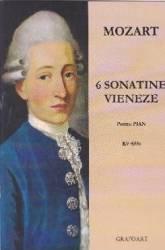 6 Sonatine vieneze pentru pian - Mozart Carti