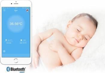 76165 Termometru clinic Medisana TM 735 Alb Bluetooth Termometre medicale