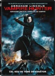 Abraham Lincoln the vampire hunter DVD 2012 Filme DVD
