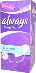 Absorbante Always Pantyliners Normal 20 buc Igiena intima