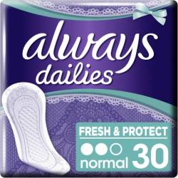 Absorbante Always Pantyliners Normal 30 buc Igiena intima