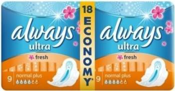 Absorbante Always Ultra Fresh Duo 18buc Igiena intima