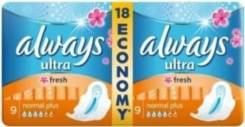 Absorbante Always Ultra Fresh Duo 18buc Igiena intima