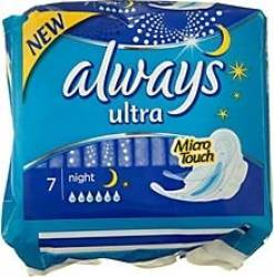 Absorbante Always Ultra Night 4x7 buc