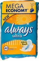 Absorbante Always Ultra Normal Plus 4x10 buc Igiena intima