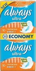 Absorbante Always Ultra Normal Plus Duo 20 buc Igiena intima