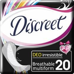 Absorbante zilnice Discreet Irresistible 20 buc Igiena intima