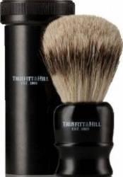 Accesoriu barbierit Truefitt and Hill Pamatuf imitatie abanos la tub de voiaj Gel de Ras si Aftershave