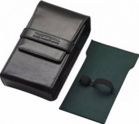 Accesoriu barbierit Truefitt and Hill Razor and Brush Travel Holder Black Gel de Ras si Aftershave