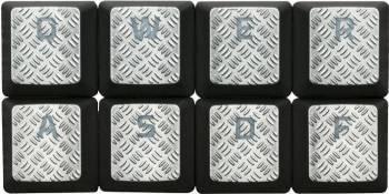 Accesoriu gaming HyperX FPS & MOBA Gaming Keycaps Upgrade Kit (Titanium) Accesorii