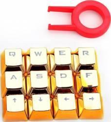 Accesoriu gaming Redragon Mechanical Gaiming Keycaps 10 taste Gold Accesorii