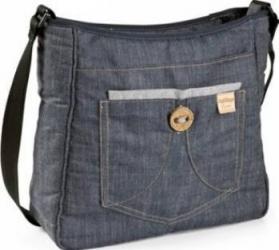 Accesoriu Peg Perego Trolley Bag Completo Denim Genti pentru mamici