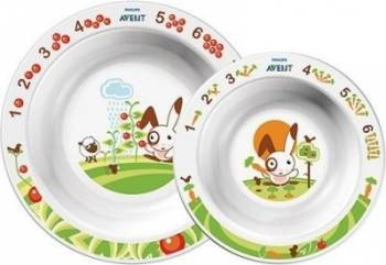 Accesoriu Philips Avent Toddler Bowl Set Accesorii Make-up