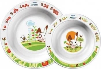 Accesoriu Philips Avent Toddler Bowl Set Accesorii Make-up