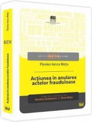 Actiunea In Anularea Actelor Frauduloase - Flavius-Iancu Motu