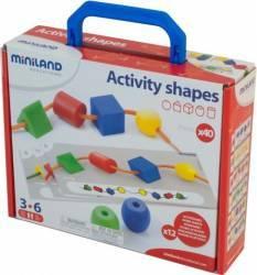 Activitati educative - forme geometrice Miniland Jucarii Interactive