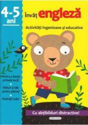 Activitati ingenioase si educative Invat engleza 4-5 ani Carti