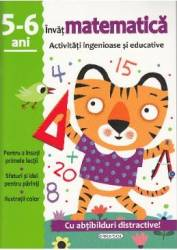 Activitati ingenioase si educative Invat matematica 5-6 ani Carti