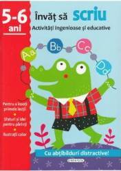 Activitati ingenioase si educative Invat sa scriu 5-6 ani Carti