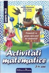 Activitati matematice. 3-4 Ani - Adriana Manolache Maria Stanga Maria Neagu