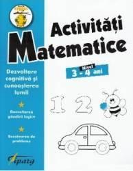 Activitati matematice 3-4 ani - Nicoleta Samarescu