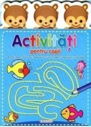 Activitati pentru copii - Albastra