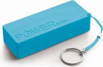 Acumulator Extern Power Bank Quark XL 5000mAh Blue Baterii Externe