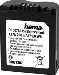 Acumulator Hama DP307 pentru Panasonic