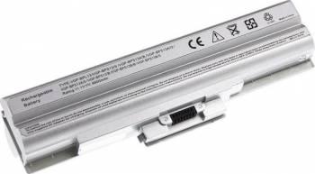 Acumulator laptop Sony Vaio VGP-BPS13 VGP-BPL13 VGP-BPS13A/S 9 celule argintiu Acumulatori Incarcatoare Laptop